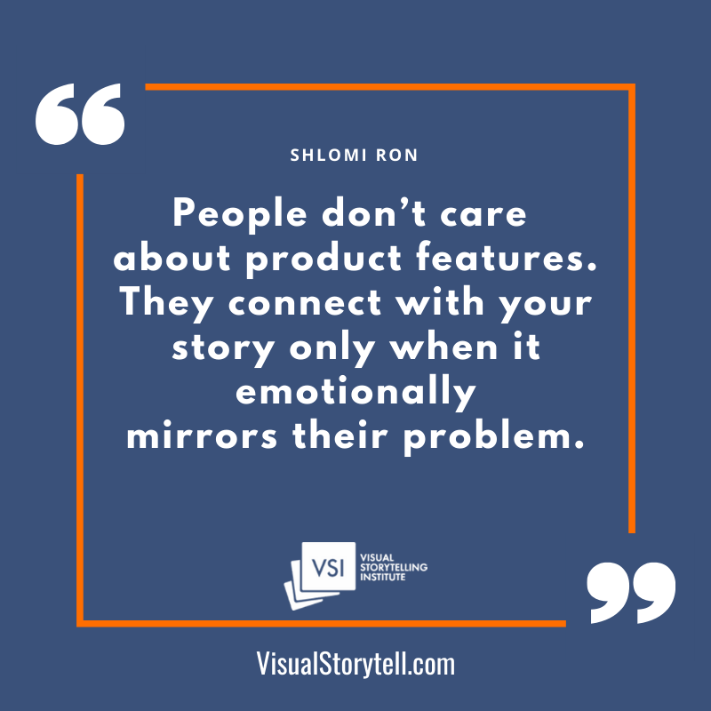 No product features more meaningful stories