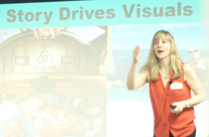 Kathy Klotz-Guest at Visual Storytelling Summit 2016