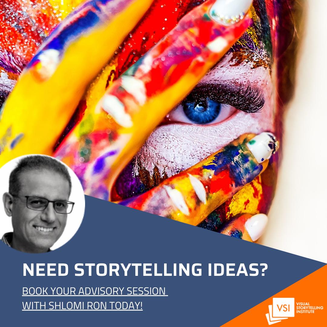 Visual storytelling advisory