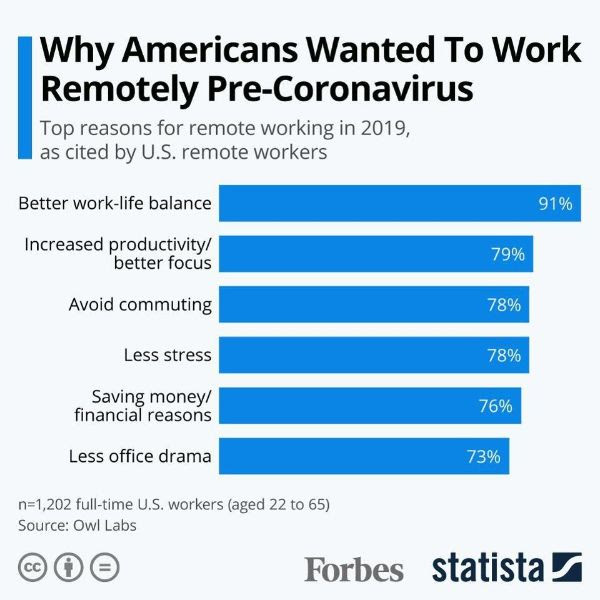 Work remotely - survey