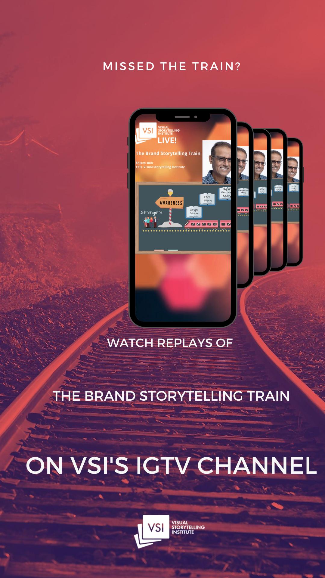 Catch VSI's Brand Storytelling Train