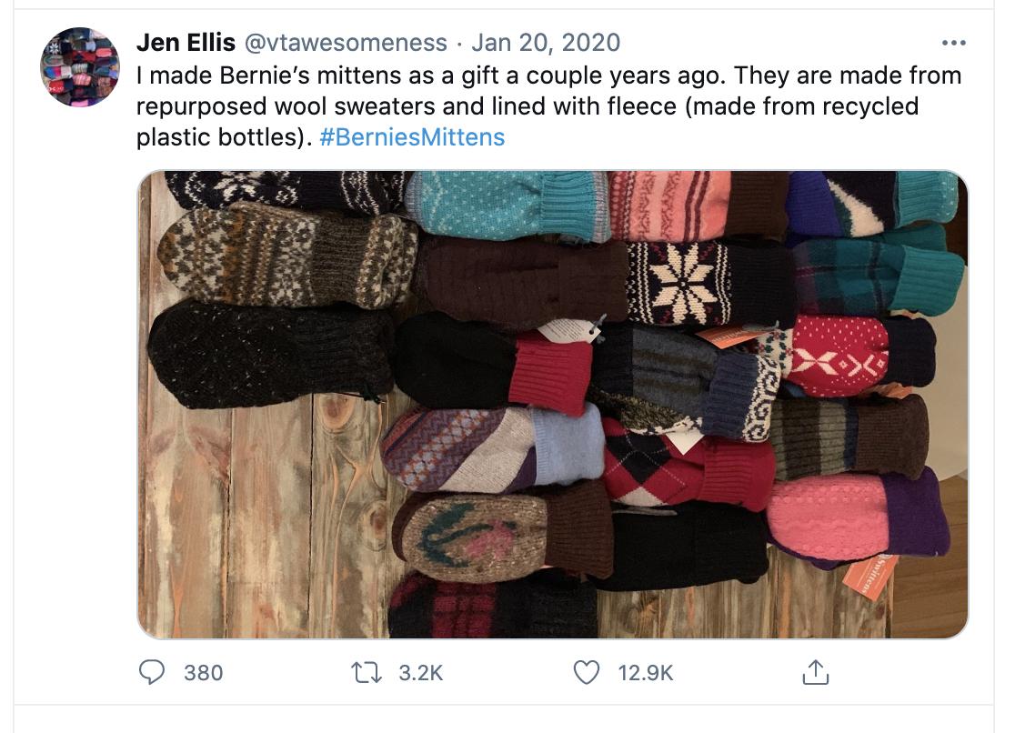 Jen Ellis response to Bernie's viral memes