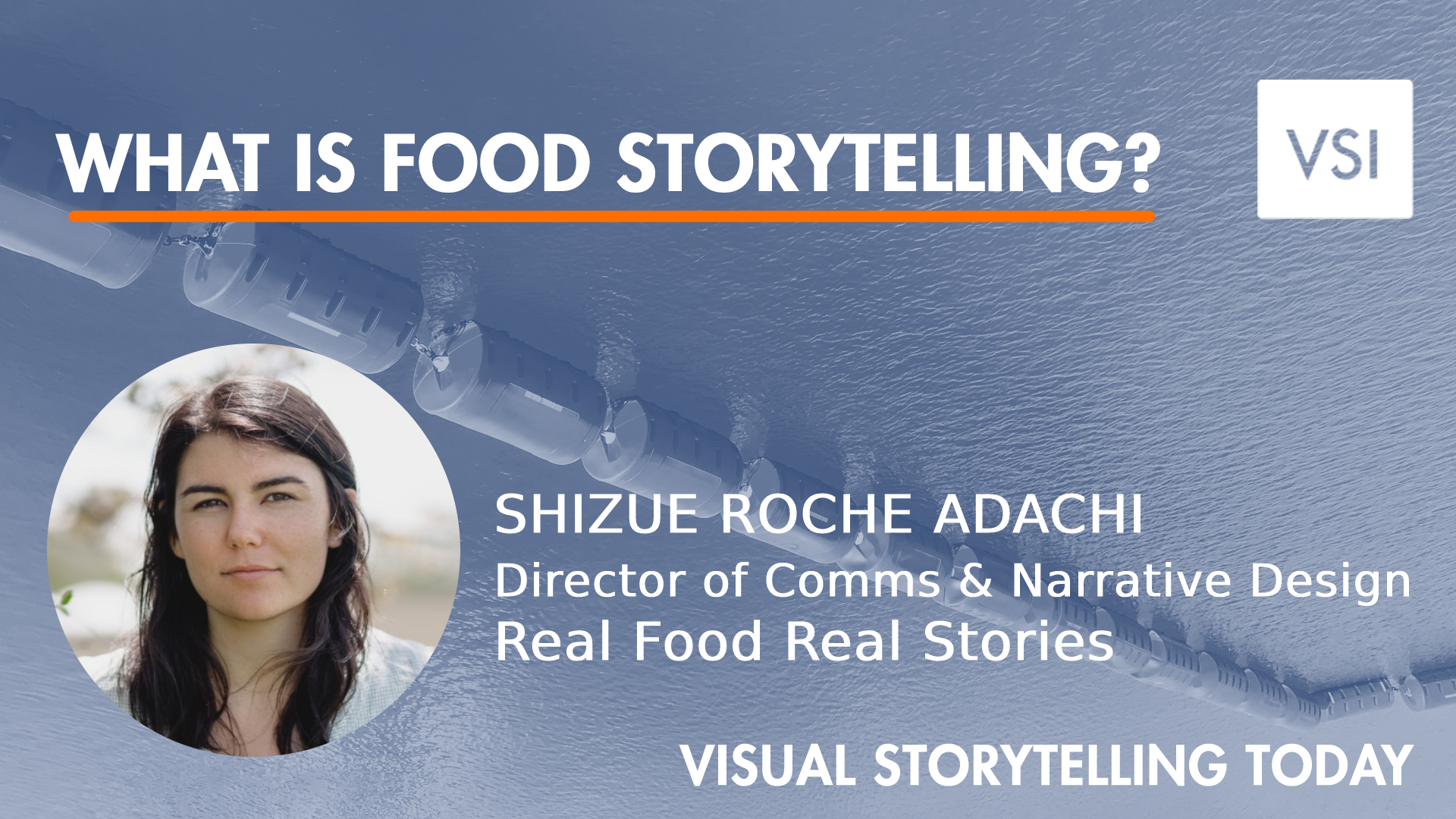 What is food storytelling?