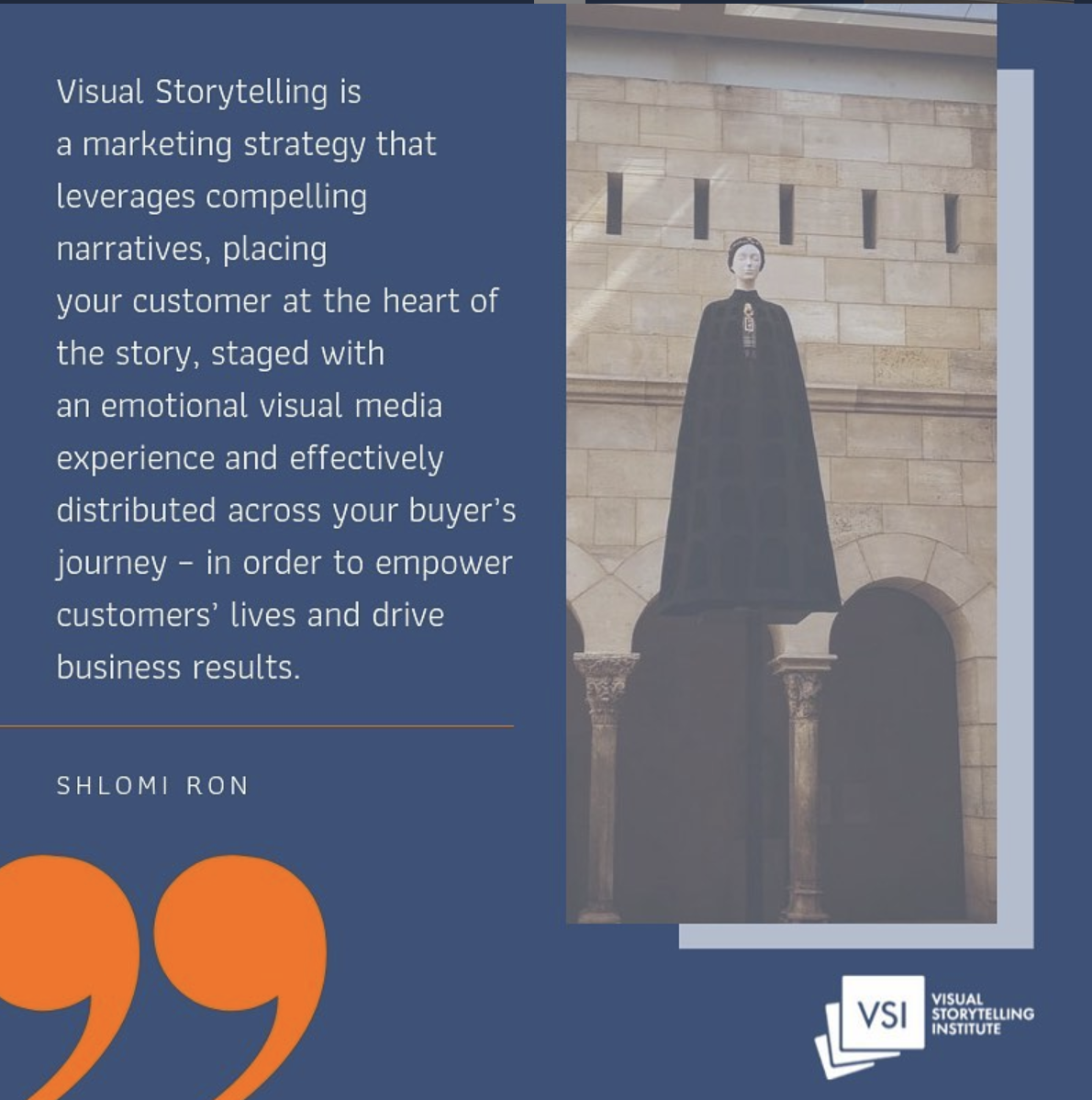 What is visual storytelling?