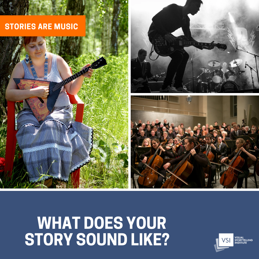 Stories are music