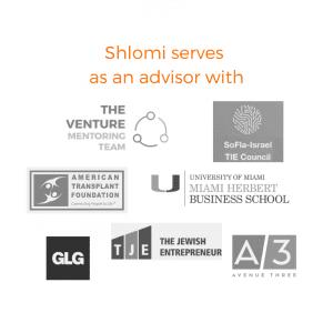 Shlomi Ron serves as an advisor with